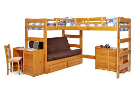 Bunk Bed With Futon On Bottom Bunk Bed With Bed On Bottom Bunk Bed With
