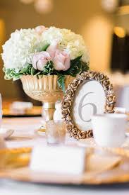 Gold Centerpiece Vases Gold Goblet Bouquet Wedding Flowers Gold Pedestal Vase