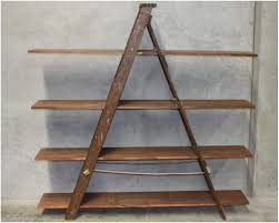 Wooden Ladder Bookshelf Plans by Wooden Ladder Bookshelf Home Design Ideas