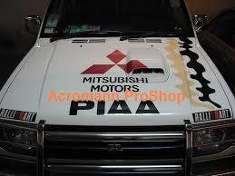 mitsubishi sticker acromann online shop