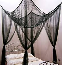 Poster Bed Canopy Four Poster Bed Romantic Bed Canopy Black King Size Bed