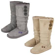 womens paw boots size 11 purple paw slouch boots the rescue site