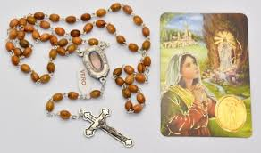 olive wood rosary direct from lourdes lourdes olive wood water apparition wooden