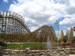 Kingda Kong Six Flags Sitting Coaster