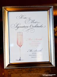 how to choose a signature cocktail for your wedding or event