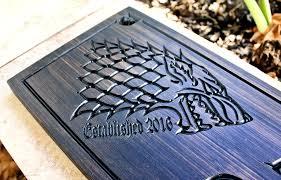 dire wolf sign game room sign design 354 custom wood design