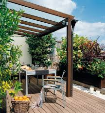 Backyard Porches Patios by Terraza Urbana Terrazas Y Jardines Pinterest Balconies