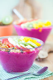 Fruit Bowls by Dragon Fruit Smoothie Bowl The Nunatural Giveaway Winners