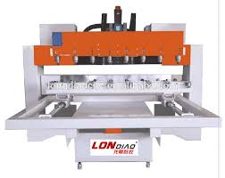8 head cnc router 4 axis multi head wood cnc rotary machine