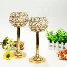 crystal tealight holder set pack of 2 glass multicolor u2013 fubist