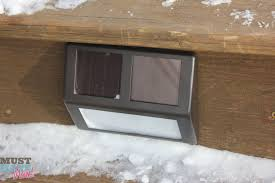 light up your outdoor stairway with plow u0026 hearth solar step