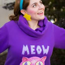 shop meow sweater on wanelo