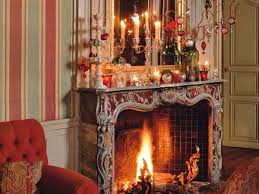 Christmas Decorations For Fireplace Mantel Fireplace Decorations For Christmas With Sweet Decorating
