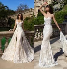 lace wedding dresses datchable royal mermaid lace wedding dresses 2017