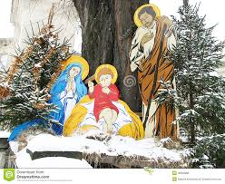 nativity of jesus birth with joseph and