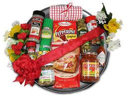 sausage gift basket pizza party gift basket pizza gift baskets pizza fixin s pizza