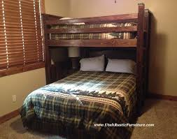 Barnwood Bunk Beds Bradley S Furniture Etc Rustic Log And Barnwood Bunk Beds