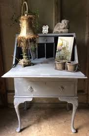 Shabby Chic Writing Desk by On Hold Yellow Writing Desk Chalk Painted Shabby Chic Furniture