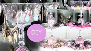 diy nail polish rack u0026 diy jewelry display holder youtube