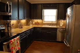 staten island kitchen cabinets pics of kitchens with black cabinets minimalist stained wood
