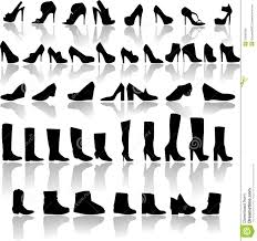 womens boots types types of shoes royalty free stock photos image 33940098