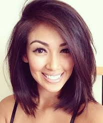 shoulder length layered longer in front hairstyle medium a line bob google search hair pinterest bobs