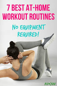 Bedroom Workout No Equipment 7 Best At Home Workout Routines U2013 No Equipment Required Avocadu