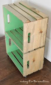 the great crate challenge ten blogs one wood crate making it