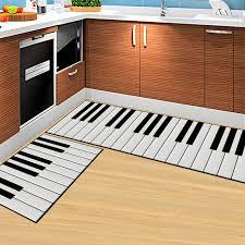 teppich k che klaviertasten 3d stein fußmatte wohnzimmer teppiche