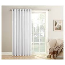 Wide Curtains For Patio Doors by No 918 Montego Patio Extra Wide Casual Textured Grommet Patio