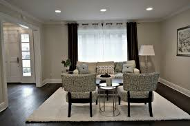 Gray And Beige Living Room by Decorating Rooms With Dark Floors And Gray Walls The Flooring