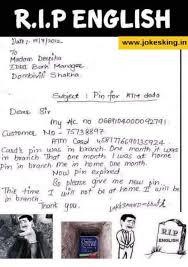 Rip English Meme - rip english wwwjokeskingin to madam deepika bach manager dombivili