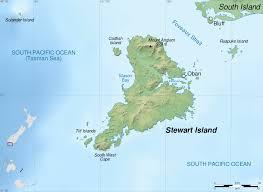 New Zealand On World Map by Stewart Island Wikipedia