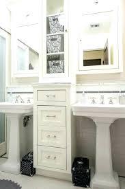 under pedestal sink storage cabinet under pedestal sink storage cabinet bathroom pedestal sink storage