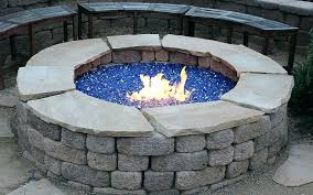 Glass Firepits Propane Pits With Glass Propane Pits Glass