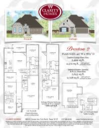 clarity homes preston clarity homes download preston 1 floor plan
