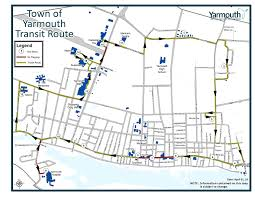 Cleveland Rta Map Town Of Yarmouth Route U0026 Schedule