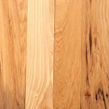 Rustic Hardwood Flooring Wide Plank Bruce Hickory Autumn Wheat 3 4 In Thick X 3 1 4 In Wide X Random