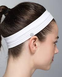 white headband lululemon headband in purple fog want