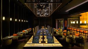 lighting changes through the day in this chinese restaurant at