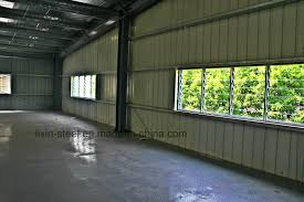 china affordable prefab metal structure steel factory and workshop