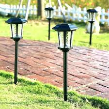 solar path lights reviews outstanding solar pathway lights solar deck bollard solar pathway