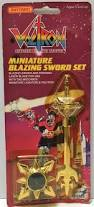 jeep matchbox tas037219 1984 matchbox voltron miniature blazing sword set