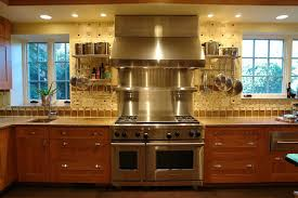 kitchen with stainless steel backsplash kitchen stainless backsplash ideas to the kitchen stand out