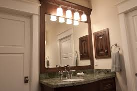 How To Hang A Large Bathroom Mirror - mirrors utah jones paint and glass
