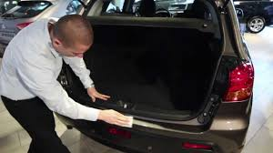 nissan versa rear bumper rear bumper protector assembly youtube