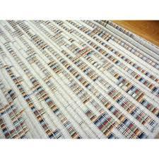 Modern Flat Weave Rugs Flatweave Modern Area Wearing Floor Rugs Rainbow Random Multi