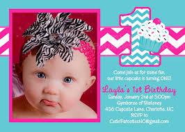 pink chevron cupcake invitations