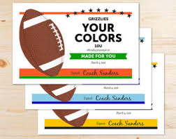 editable football award certificates instant download