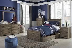 ashley furniture javarin panel bedroom set in grayish brown best